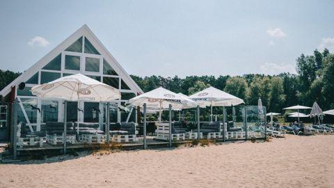 ROBINSON Beachclub im Land Fleesensee