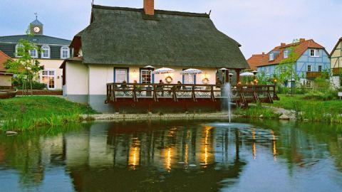 Bootshus in der Ferienanlage Dorfhotel Fleesensee